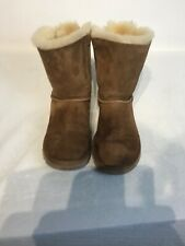 Ugg Australia Laces Ladies Chestnut Boots Uk 5.5 Ref Ba17