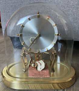 KUNDO Oval Dome 400-Day Anniversary Clock-Free Shipping! Original Tags!