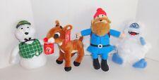 Rudolph Red Nosed Reindeer Plush Set Yukon Cornelius Bumble Sam BIGGER Lot #1