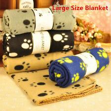 Haustier Hund Katze Welpen Warm Paw Prints Couture Mantel Decke markiert Nev