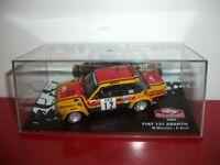 fiat 131 abarth 1980 1/43 rallye monte Carlo IXO