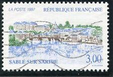 TIMBRE FRANCE OBLITERE N° 3107 SABLE SUR SARTHE /
