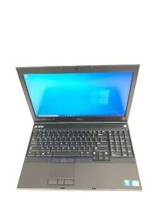 """Dell Precision M4700 15.6"""" Core i5 3340M 2.70GHz 16GB RAM 512GB SSD Win 10 Pro"""