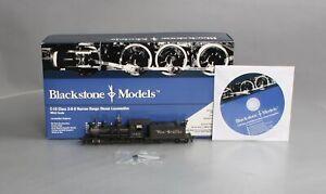 Blackstone Models B310201W-S HOn3 D&RGW Weathered C-19 2-8-0 Steam Locomotive