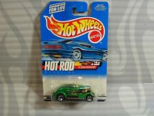 2000 HOT WHEELS  ''HOT ROD SERIES'' #008 =`33 FORD ROADSTER = GREEN  5sp , 0910