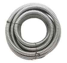 "25' Southwire Metal Flex Flexible 3/4"" Conduit 19 mm .75"" Electrical Wire Tubing"