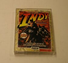 RARE Indiana Jones and the Last Crusade by LucasFilm for Commodore 64