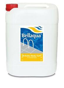 BAYROL / Bellaqua  PH Minus flüssig DOMESTIC 14,9% - 20L Kanister -- kcw-shop --