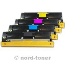 4x toner pour Konica Minolta Magicolor 2550dn 2590mf 2550 compatible nord-toner