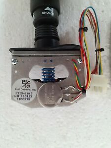 All Machinery Parts M115-1649 Joystick Controller: PQ Controls
