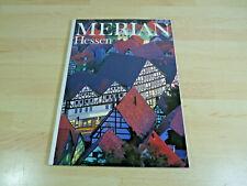 Zeitschrift Reisemagazin MERIAN - Hessen / Heft