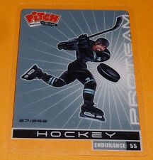 HOCKEY SUR GLACE ICE CARTE PITCH PRO TEAM PASQUIER 2011 SPORTS PANINI