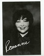 5 X 7 Photo Television Star Actress Roseanne Barr Faux Signature