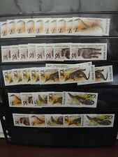 Russia CCCP Stamps 1990 Prehistoric Animals .Complete Sets plus many spare umin