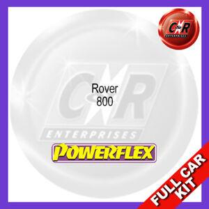 Fits Rover 800  Powerflex Complete Bush Kit