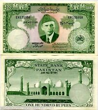 PAKISTAN BANGLADESH 100 RUPEES P18 1957 BENGALI SIGN RASHID UNC MONEY BANK NOTE