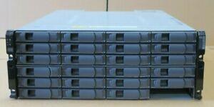 NetApp DS4243 NAJ-0801 24x SAS Bay Array 2x IOM3 Controllers 111-00128 2x PSU