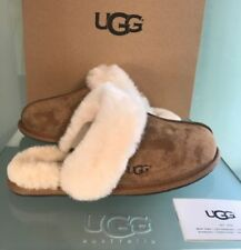*NEW* AUTHENTIC WOMEN'S SHOES UGG SCUFFETTE II SLIPPERS 5661 CHESTNUT size 8