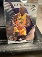 2019-20 Panini Mosaic Shaquille O'Neal Hall Of Fame Insert