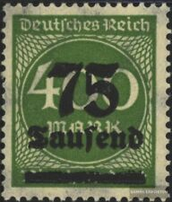 German Empire 287a tested used 1923 Hyperinflation