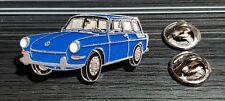 Volkswagen VW pin typ 3 Sedán 1500 AZUL - maße 40x20mm