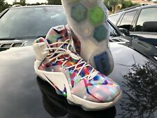 33b6b79073ce1 Nike LeBron XII EXT 12 Finish Your Breakfast prism pebbles sz 13