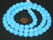 Turquoise Bleu Bohemian Ball Beads