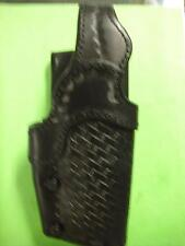 DUTY HOLSTER 4506 OR EQUIV.  BLACKWEAVE  BLACK LEATHER