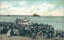 Skegness, lifeboat; 1906 valentines