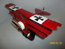 Fokker DR.1 Triplane Red Baron WWI Wood Desktop Modle High Quality 1/20  C113