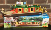 Sylvanian Families CANAL BOAT Tomy Rose Sylvania BARGE Calico Critters Boxed