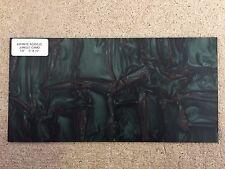 "KIRINITE: JUNGLE CAMO 1/8"" 6"" x 12"" Sheet for WoodWorking,Knife Making"