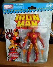 "Marvel Legends IRON MAN Toy Biz Retro Packaging 6"" Hasbro"