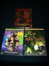 Comic Book Triple Feature Used Dvds Mystery Men, Man-Thing, Hellboy: Directors C
