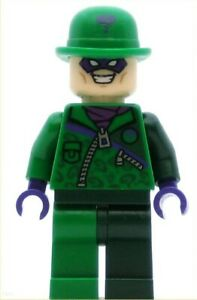 LEGO Super Heroes Minifigure The Riddler (Genuine)