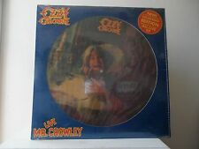 """OZZY OZBOURNE - PICTURE RECORDS - NEVER PLAYED - """"SEALED"""" - """"SEALED"""" - VERY RARE"""
