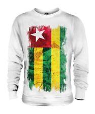 Togo Grunge Bandera Unisex Suéter Togolés Camisa Camiseta de Fútbol Regalo