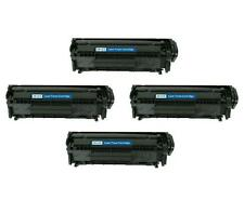4 NON-OEM TONER CARTRIDGE HP Q2612X LASERJET 1010 1012 1015 1018 1020 1022 3015
