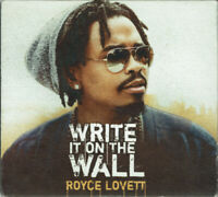 New; ROYCE LOVETT - Write It On The Wall [Pop/Gospel/EP/Digipak] CD