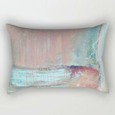 "Society6 Small rectangular pillow 12"" x 17"" NWT insert and case"