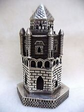 SPICE BOX STERLING SILVER HAVDALA SPICE BOX GOTHIC CASTLE SHAPE HANDMADE