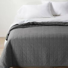 Full/Queen 3pc Antimicrobial Quilt Set White - Truly Calm