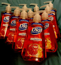 LOT OF 10!!! Dial Antibact Hand Soap Pomegranate Tangerine 10x 7.5oz