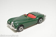MATCHBOX JAGUAR XK120 XK 120 GREEN EXCELLENT CONDITION