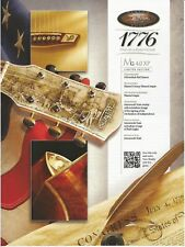 McPHERSON Guitars 1776 MG 4.0 XP Print Ad # 41 7