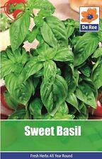 Herb Sweet Basil Seeds