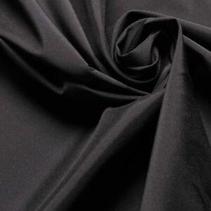 Stretchy Lining fabric - Black - 2-way stretch - Dress fabric