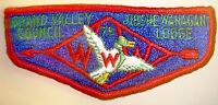 OA JIBSHE-WANAGAN LODGE 79 MERGED 401 25 VALLEY COUNCIL PATCH OLD SERVICE FLAP