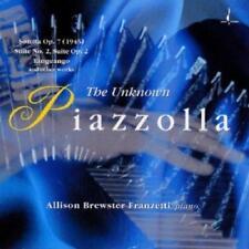 Brewster Franzetti Allison - The Unknown Piazolla (NEW CD)