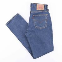 Vintage LEVI'S 583 06 Regular Straight Fit Men's Blue Jeans W29 L32
